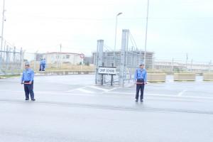 辺野古のゲートの写真